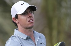 'I feel like punching myself' – McIlroy fumes as he drops well off the pace in Abu Dhabi