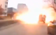 Watch: Dashboard cam captures moment of deadly rocket attack in Ukraine