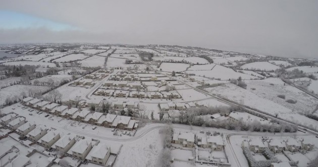 Drone-mounted camera captures stunning pics of snow-covered Cavan