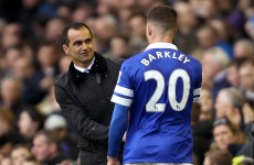 Sorry, Carra! Ross Barkley's not leaving Everton, insists Martinez