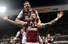 Managerless Newcastle stunned by dogged Burnley as Pardew watches Palace draw at Villa