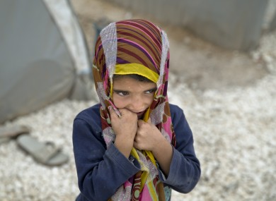 A Syrian Kurdish refugee.