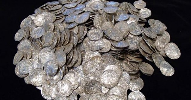 Man with metal detector finds one of Britain's largest hoard of buried treasure… hopes to buy new house