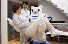 Giant robot bear nurse part of 'new approach' to elderly care (no, really)