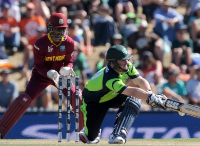 Ireland upset the West Indies in their first World Cup match.