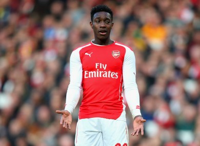 Danny Welbeck is not worried about Arsenal's recent Champions League record.