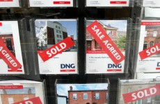 Don't look yet but house prices actually FELL a little bit last month
