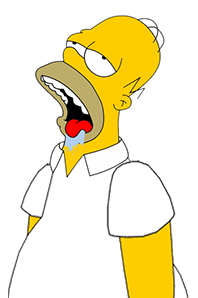 Encuesta Homer_simpson_drooling_by_dondrug-d6h081a-2