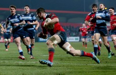 While you were thinking about the 6 Nations Munster scored one of the tries of the season