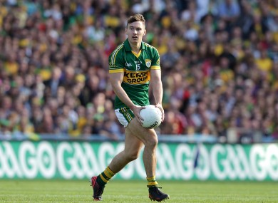 James O'Donoghue miss miss Kerry's league campaign.