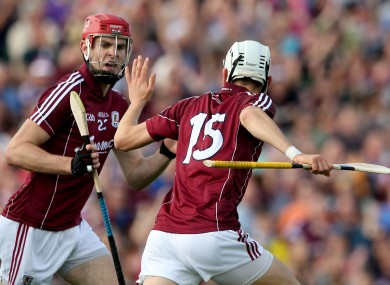 Jason Flynn (15) was the hero for Galway today.