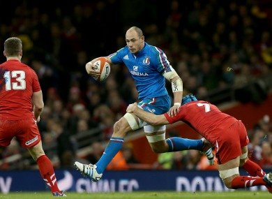 Parisse has been exceptional for Italy throughout his career.