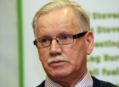 Limerick chairman Pat O'Sullivan.