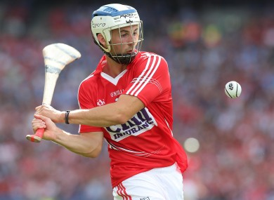Luke O'Farrell comes in to the Cork team to play Clare on Leeside on Saturday evening.