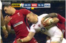 Twitter was not impressed with the decision to let Wales' George North play on tonight