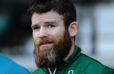 Gordon D'Arcy is miffed that nobody knows he's on Twitter
