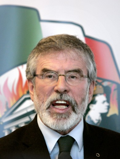 Gerry Adams: Enda and co are in bed with the elites and won't get out