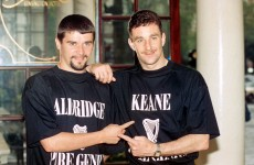 John Aldridge names his best XI & Keane, McGrath and Brady are all in there