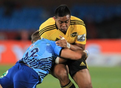 Savea scored a lovely try for the Hurricanes today.