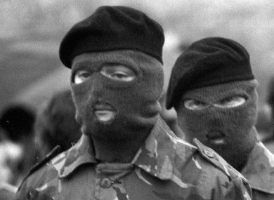A Provisional IRA funeral in the 1980s. (File)