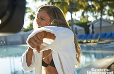 Here's why UFC fighter Ronda Rousey gained weight to be in the Sports Illustrated swimsuit issue