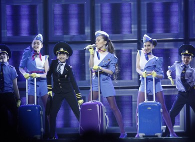 Your child can be a tiny pilot or air stewardess like Armenia's Dalita in 2011.