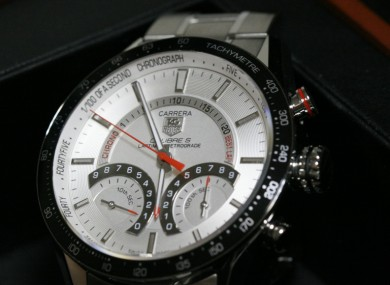 Google's involvement with Tag Heuer will put pressure on Apple, which is releasing its luxury smartwatch next month.