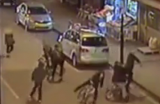 CCTV footage shows 15-year-old being brutally stabbed in chest while cycling