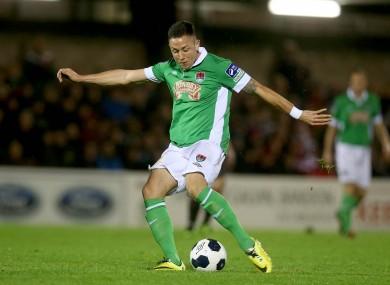 Billy Dennehy scored twice for Cork City.
