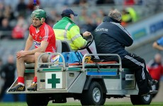 Cruciate setback for Cork hurlers as defender Joyce suffers injury