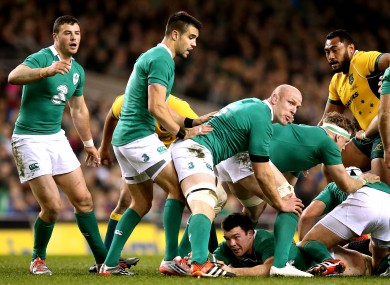 The displays of Robbie Henshaw, Conor Murray and Paul O'Connell have been recognised.