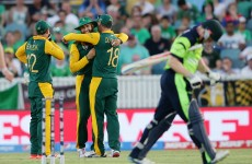 Ireland bullied by dominant South Africa as they slump to first World Cup defeat