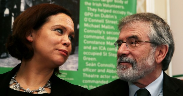 Gerry and Mary Lou prepare to rally the troops