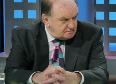 George Hook: happy with decision to exit.