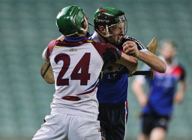 WIT's Ger Teehan and UL's Cathal McInerney faced off last night.