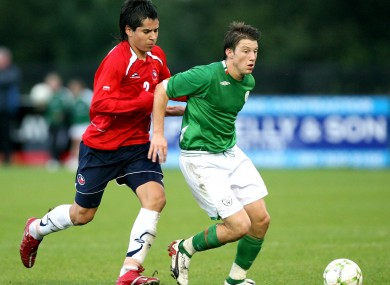 Harry Arter has previously represented Ireland at U19 level.