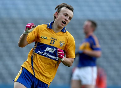 Martin O'Leary will be a key man for the Clare U21's tomorrow night.