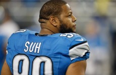 A boy named Suh is about to sign one of the biggest contracts in NFL history
