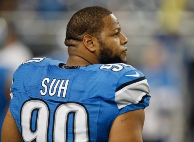 Ndamukong Suh is about