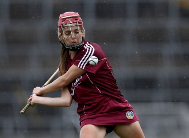 Orlaith McGrath in action for Tipperary.