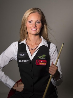 Reanne Evens has won every ladies' world snooker championship since 2005.