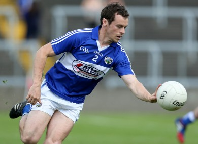 Padraig McMahon has called time on his Laois football career.