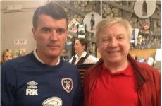 Roy Keane went to see 'I, Keano' last night (seriously)