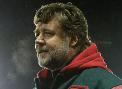 Russell Crowe recently hinted he would be interested in buying Leeds.