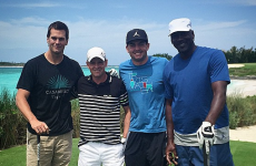 Tom Brady and Michael Jordan had the BEST craic hanging out together this weekend