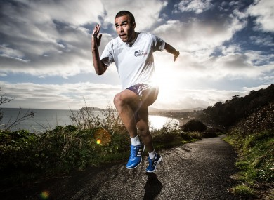 Simon Zebo is a race ambassador for the 2015 Wings for Life World Run.