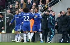 Chelsea survive a big scare to hold off Hull and remain six points clear
