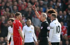 'I want to apologise to everyone in our dressing room and the supporters' – Steven Gerrard