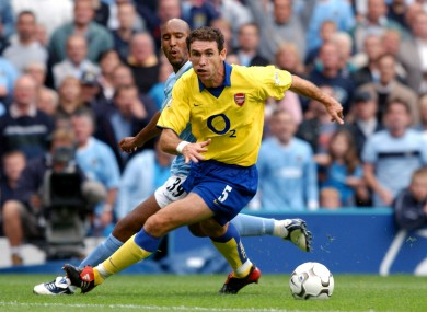 Keown Sr made over 300 appearances for Arsenal.