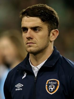 Brady impressed in Ireland's friendly with USA last November.